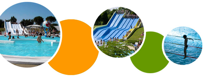Autour du camping le parc gourjade le golf le coche d 39 eau for Archipel piscine castres